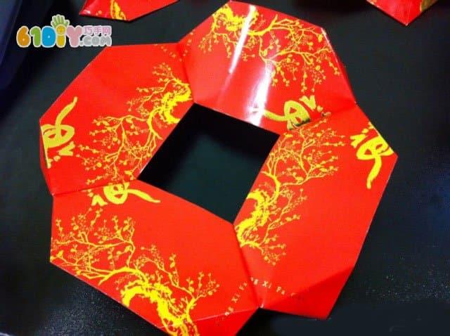 红包手工制作铜钱灯笼