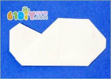 儿童折纸——云朵折法