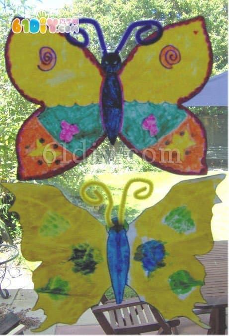 儿童画:巧手绘春天
