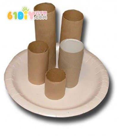 纸筒手工制作城堡