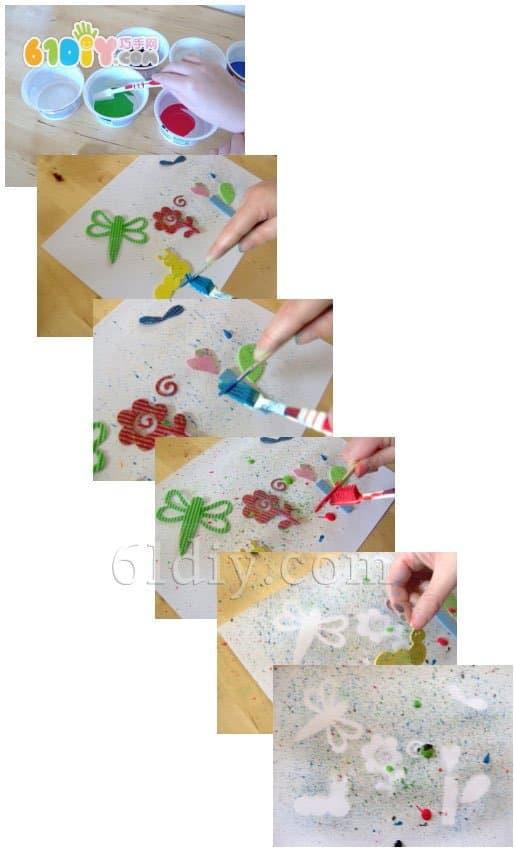 首页 精彩贴画     手工材料:棉花, 活动眼睛,彩色纸, 树枝,毛球,胶水