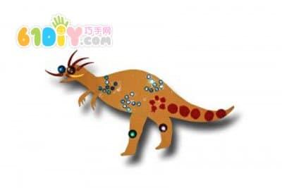 幼儿园恐龙手工制作