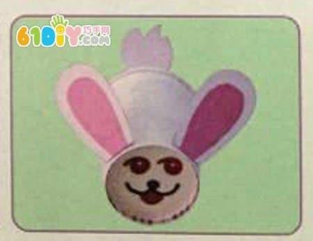 纸杯小兔子手工diy