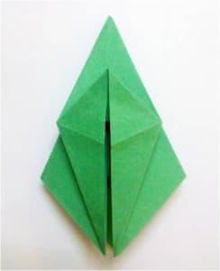 青蛙折纸步骤