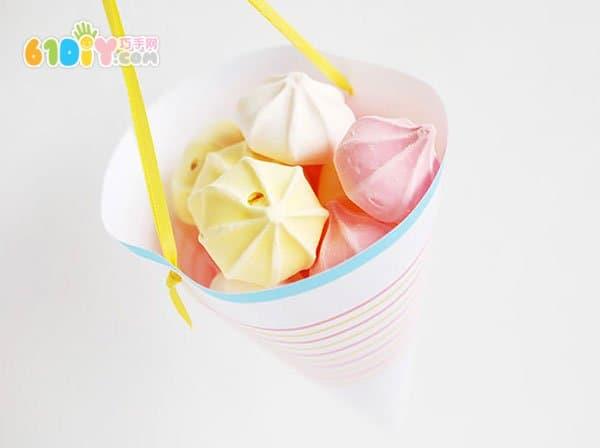 幼儿园手工制作零食罐