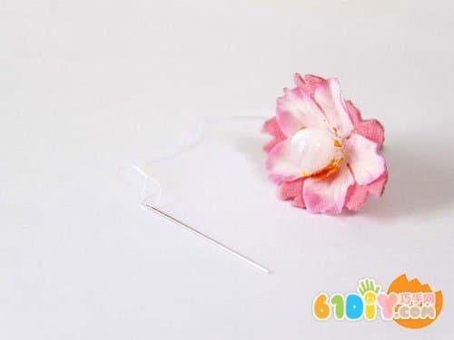花朵书签手工制作