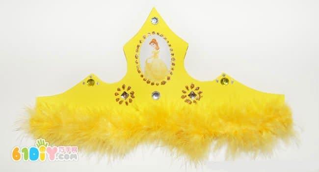 海绵纸手工制作皇冠