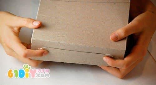 纸盒手工制作小房子_纸盒手工