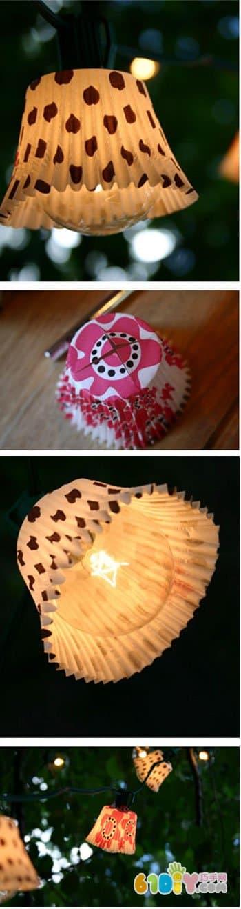 漂亮的搓纸挂饰手工 怎样制作蛋糕纸手工花
