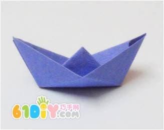 幼儿园折纸船视频_怎样折小船_船折纸_巧巧手幼儿手工网