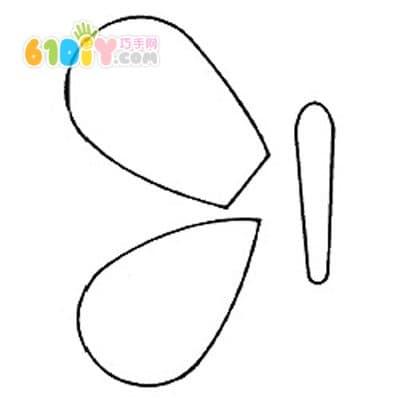 教师节diy:简单的蝴蝶贺卡