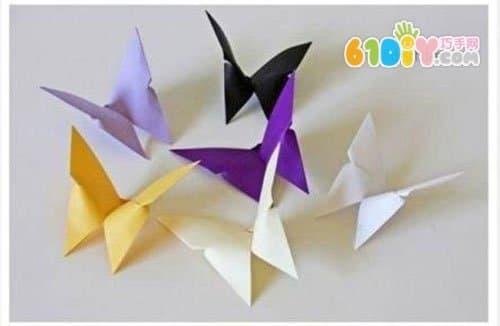 首页 益智折纸 动物折纸 蝴蝶折纸  立体蝴蝶折纸步骤 ------分隔线