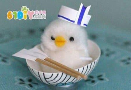 可爱的蛋壳小船手工制作