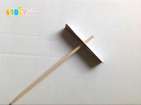 废纸和一次性筷子diy制作竹蜻蜓