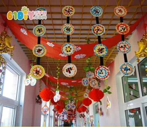 幼儿园新年环境布置图片_新年春节_巧巧手幼儿手工网