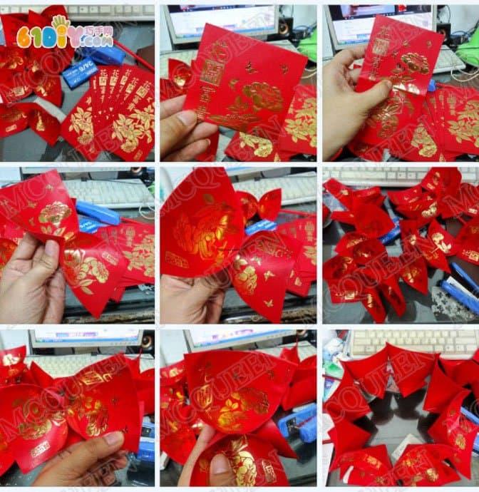 红包灯笼纸艺网_红包灯笼DIY_纸袋手工_巧巧手幼儿手工网