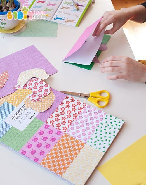 怎样制作元旦贺卡_新年DIY 简单的立体贺卡_综合其它_巧巧手幼儿手工网