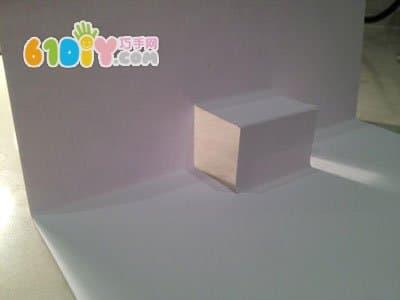 生日蛋糕立体贺卡制作图解