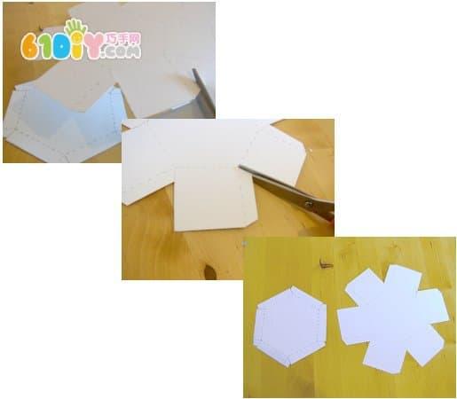 六边形包装盒详细制作图解