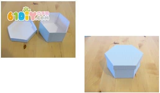六边形包装盒详细制作图解_综合其它_巧巧手幼儿手工网
