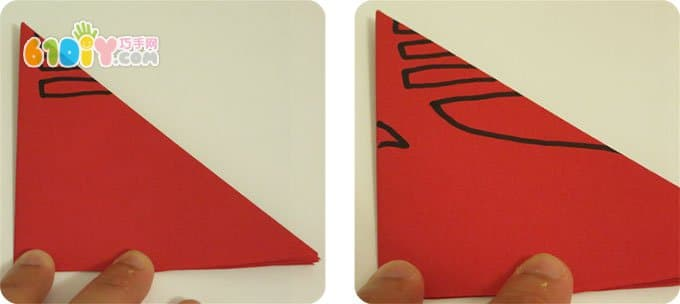 立体春字剪纸