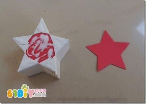 母子盒diy 星星纸盒手工制作