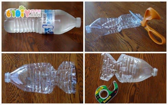 废物利用制作塑料瓶小鱼