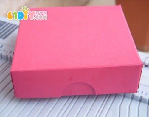 卡纸手工 精美纸盒DIY制作
