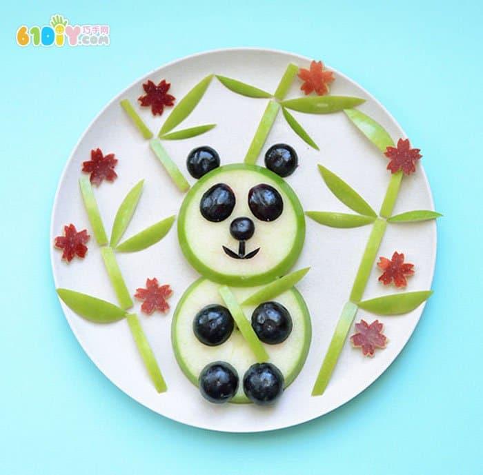 熊猫水果拼盘