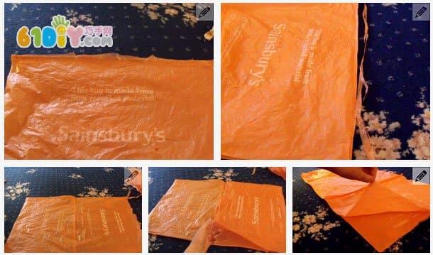塑料袋制作漂亮裙子环保衣