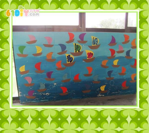幼儿园毕业主题教室布置