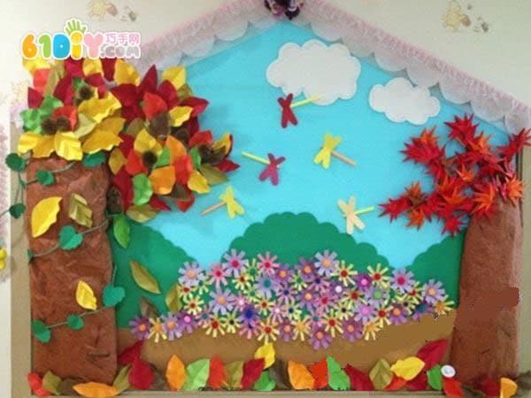 幼儿园环创 美丽的秋天