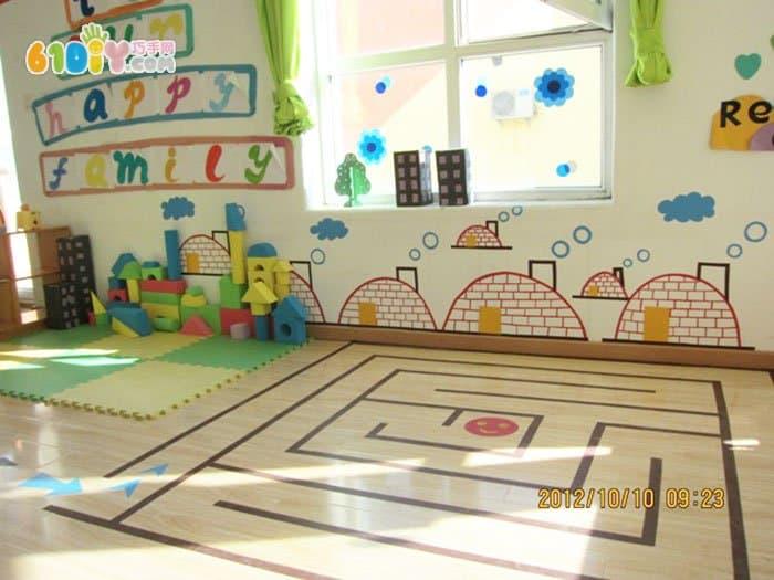幼儿园建构区环境布置