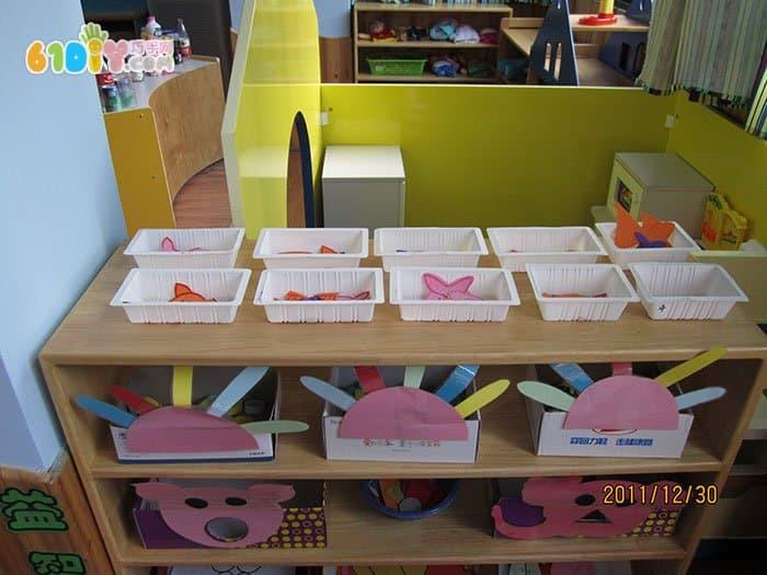 幼儿智力手工区-幼儿园手工智力