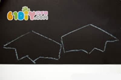 万圣节儿童手工 纸杯制作蝙蝠糖果篮