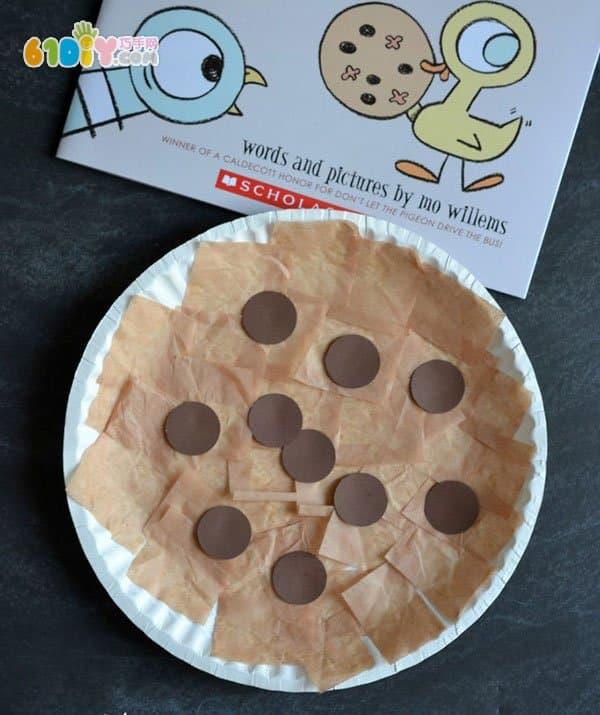 儿童食物手工 美味纸盘饼干_巧巧手幼儿手工网