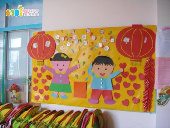 幼儿手工小制作纸筒_幼儿手工小制作纸筒设计  幼儿墙饰手工制作创意