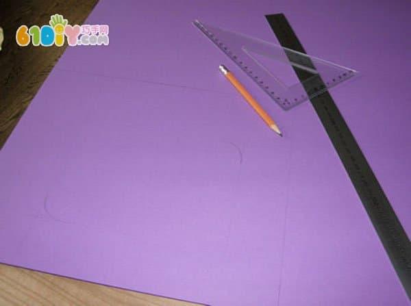 新年礼物diy 衍纸花相框制作步骤