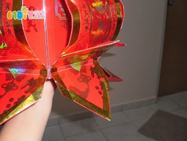 元宵节花灯 红包灯笼制作过程