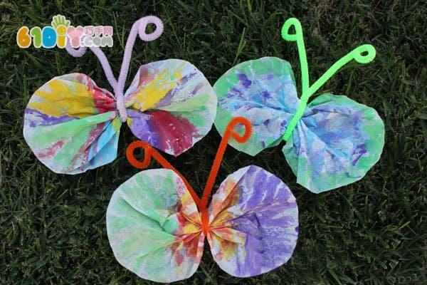 幼儿园春天手工制作蝴蝶