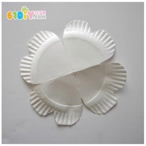 纸盘子制作动物图片