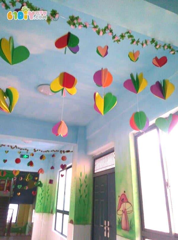 幼儿园光盘手工吊饰图片