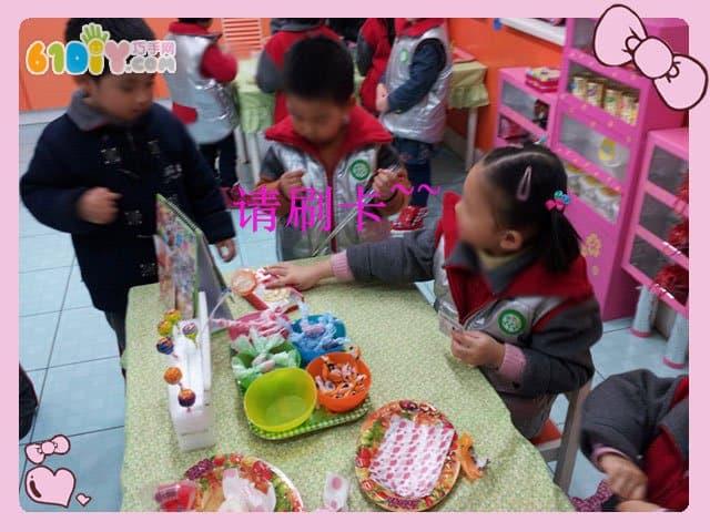 幼儿园糖果店区角图片