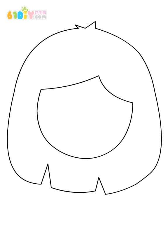 幼儿园爱心卡片边框简笔画