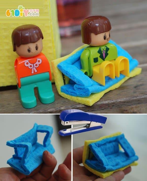 儿童diy教程 牛奶盒制作房子_纸盒手工_巧巧手幼儿