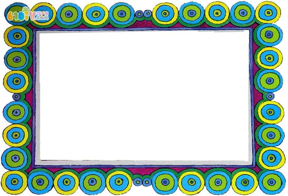 幼儿园墙面设计边框_公告栏_手工小制作