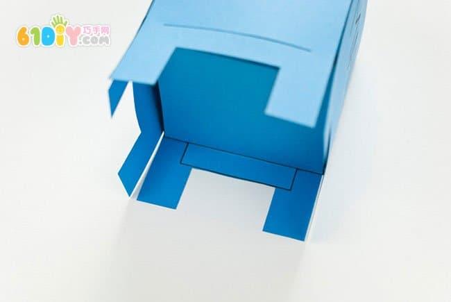 卡纸手工制作邮箱