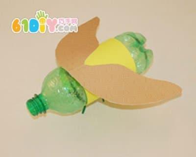塑料瓶制作飞虫_瓶子手工_巧巧手幼儿手工网
