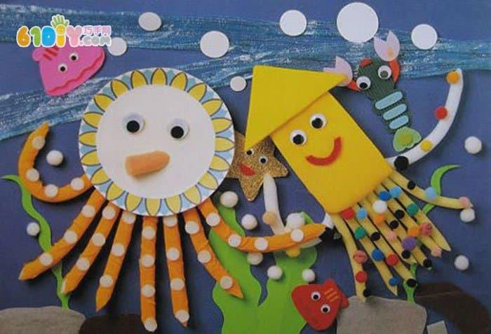 首页 幼儿园环境布置 吊饰图片