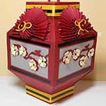 漂亮的中秋节手工纸灯笼